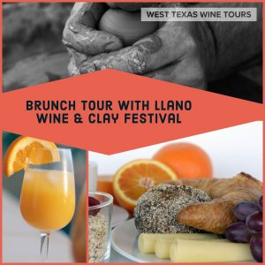 June 9th Public Brunch Wine Tour @ West Texas Wine Tours |  |  |