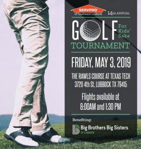 14th Annual Golf for Kids' Sake Golf Tournament @ Rawls Golf Course