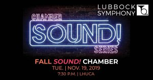 Fall SOUND! Chamber Concert @ LHUCA Ice House |  |  |
