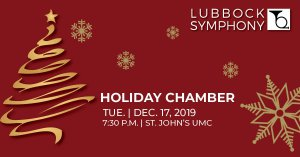 Lubbock Symphony Holiday Chamber w/ Brass Quintet @ St. John's United Methodist Church |  |  |
