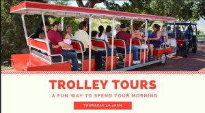 NRHC Trolley Tours 2019 @ National Ranching Heritage Center