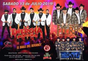 La Energia - La Fiera - Sexto Grado @ Fiesta-Center Lubbock