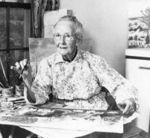 Art Lectures with Dr. Conrad: Grandma Moses and Grandma Layton @ LHUCA