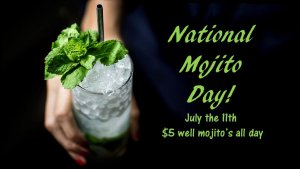 National Mojito Day @ The Lounge at Cafe J