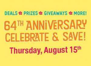 Natural Grocers 64th Anniversary @ Natural Grocers