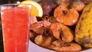 Shrimp Boil @ Rockfish Seafood Grill in Lubbock