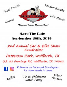 2nd Annual Car & Bike Show Festival Fundraiser @ Patterson Park