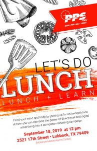 PPS Lunch + Learn @ TTU McKenzie-Merket Alumni Center