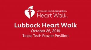 2019 Lubbock Heart Walk @ Frazier Alumni Pavilion