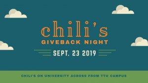 Chili's Giveback Night @ Chili's Grill & Bar