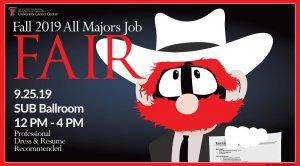 All Majors Job Fair @ TTU - SUB - Ballroom