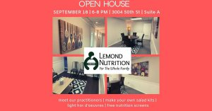Open House - Lemond Nutrition Lubbock @ Lemond Nutrition