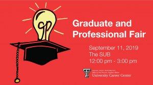Graduate and Professional School Fair @ TTU - SUB - Ballroom