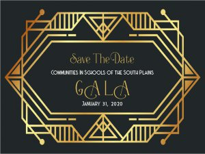 Communities In Schools 20th Anniversary Gala @ Overton Hotel and Conference Center