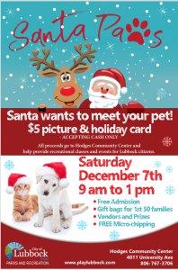 Santa Paws @ Hodges Community Center
