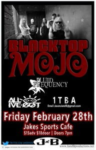 Blacktop Mojo @ Jake's Sports Cafe & Backroom