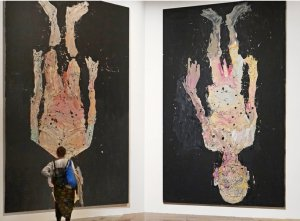 Art Lectures with Dr. Conrad: Sigmar Polke and Georg Baselitz @ LHUCA