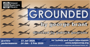 GROUNDED by George Brant @ LHUCA
