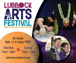 Lubbock Arts Festival @ Lubbock Memorial Civic Center