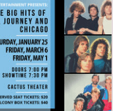The Big Hits of Bon Jovi, Journey and Chicago @ Cactus Theater