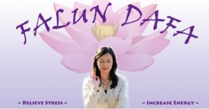 Falun Dafa Exercises @ Maggie Trejo Supercenter